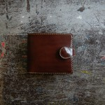Short Wallet 01 Snap -BROWN-